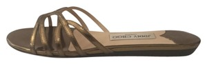 Jimmy Choo Bronze Flats