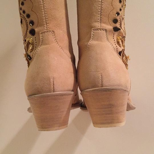 Ripa Calzatture Hand Made in Ilaly Camel Boots Image 9