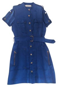 Lanvin short dress Azure Blue on Tradesy