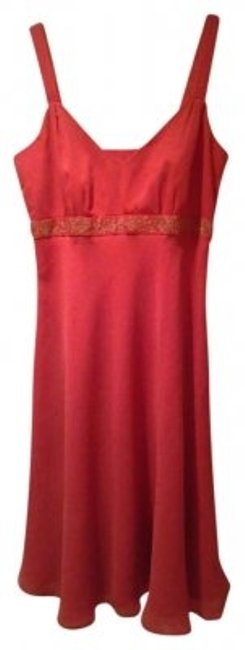 Preload https://item3.tradesy.com/images/tahari-pomegranate-mosaic-bohemia-knee-length-night-out-dress-size-8-m-143502-0-0.jpg?width=400&height=650
