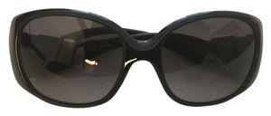 Fendi Fendi Black Logo Sunglasses