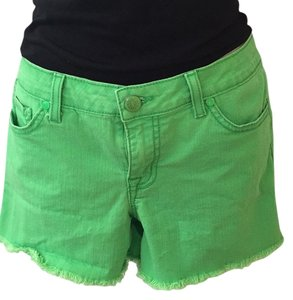 Jessica Simpson Cut Off Shorts Green