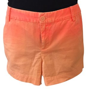 Gap Cuffed Shorts Orange