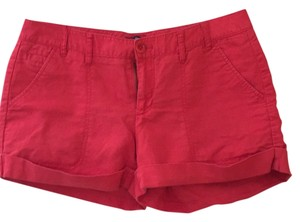 Gap Cuffed Shorts Red