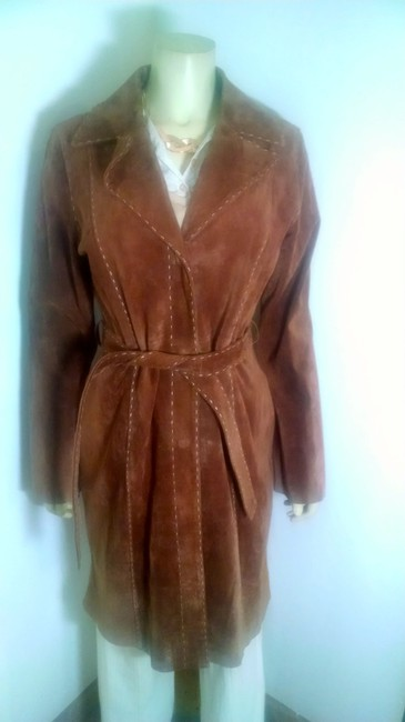 Wilsons Leather P964 Jacket Trench Coat