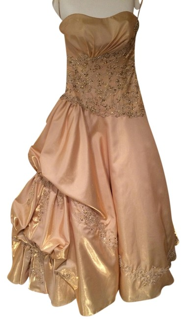 Preload https://item3.tradesy.com/images/gold-gown-long-formal-dress-size-2-xs-1435107-0-0.jpg?width=400&height=650
