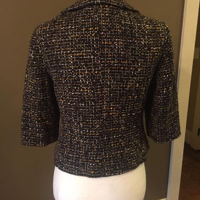 Ann Taylor LOFT Black/White/Yellow Tweed Blazer Image 1