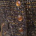 Ann Taylor LOFT Black/White/Yellow Tweed Blazer Image 2