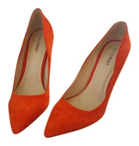 Shoemint Orange Pumps