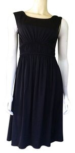 Cynthia Steffe short dress Black Slinky Ruched Little Lbd on Tradesy