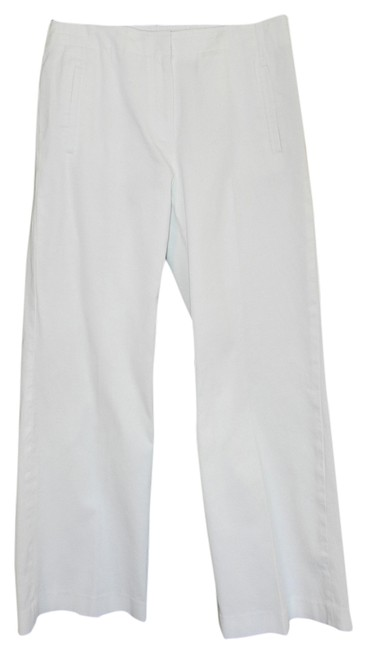 Talbots Stretch Trouser Pants White