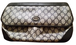 Gucci Vintage Classic Navy and white Clutch