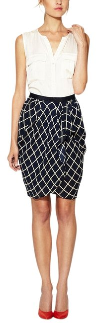 Elorie Skirt Navy and White