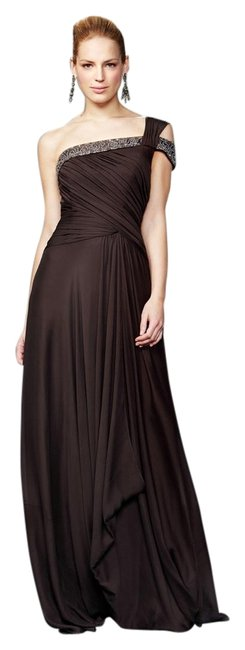 hot sale Theia Brown Auth New 880457 Size 10 Dress - 57% Off Retail
