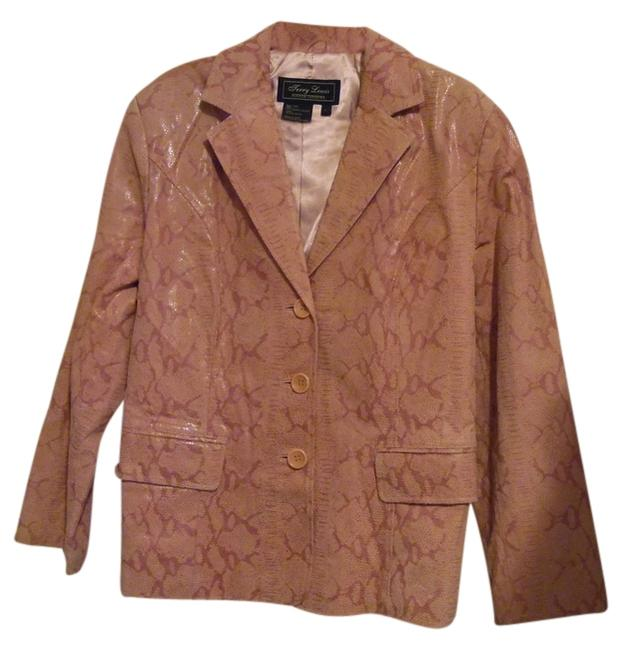 Preload https://img-static.tradesy.com/item/14353363/terry-lewis-classic-luxuries-rose-snake-skin-embossed-leather-jacket-size-14-l-0-1-650-650.jpg