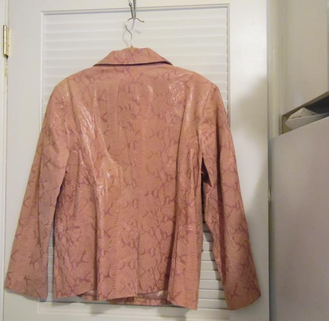 Terry Lewis Classic Luxuries Rose Leather Jacket Image 3