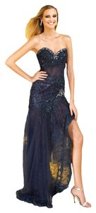 Alyce High Low Lace Prom Dress
