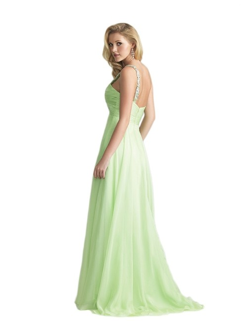 Night Moves Prom Collection One Empire Waist Pageant Evening Dress