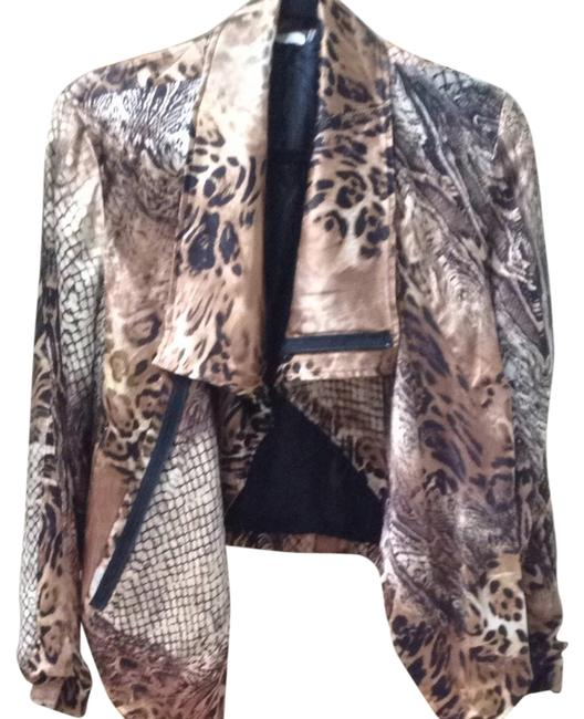 27 miles malibu Leopard & Snake Abstract Jacket