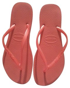 Havaianas Beach Casual Neon Slim Orange Sandals