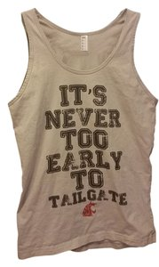 American Apparel Wsu Collegiate Cougars Tailgate Top Gray