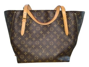 Louis Vuitton Voltaire Neverfull Tote in Brown