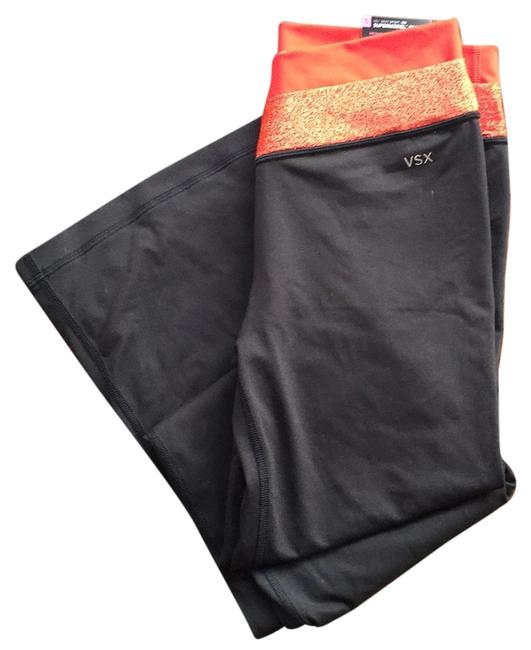 Item - Black with Red Lining On Waist Supermodel Vsx Yoga Activewear Bottoms Size 4 (S, 27)