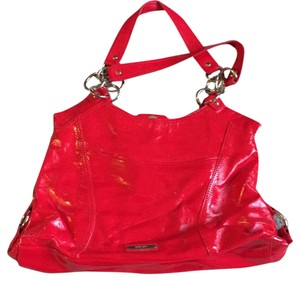 Nine West Satchel in Red patent