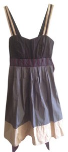 Lux short dress Black Blue Purple Metallic Spring Summer Slate Bohemian Mauve on Tradesy