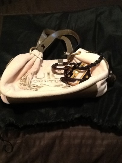 Juicy Couture Satchel in Pink/brown leather trim Image 2