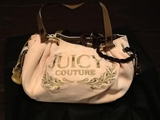 Juicy Couture Satchel in Pink/brown leather trim Image 3