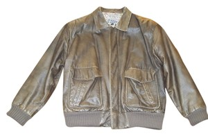 G-4000 Vintage Leather Brown Leather Jacket