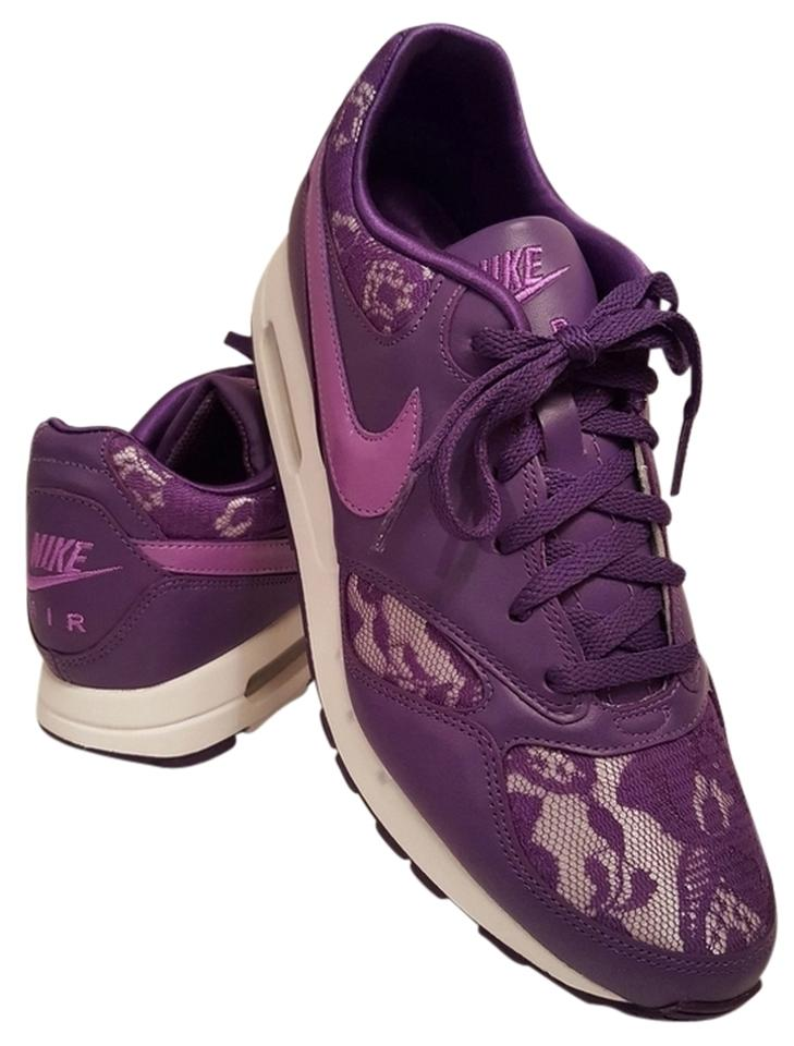 Nike Purple Women s Air Zenyth Lace Trim Sneakers Sneakers Size US ... a3122076ad019