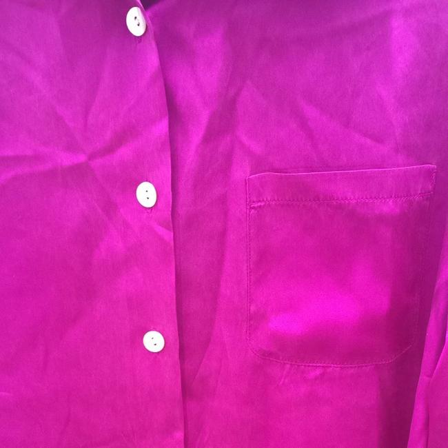 Spenser Button Down Shirt Purple/Magenta