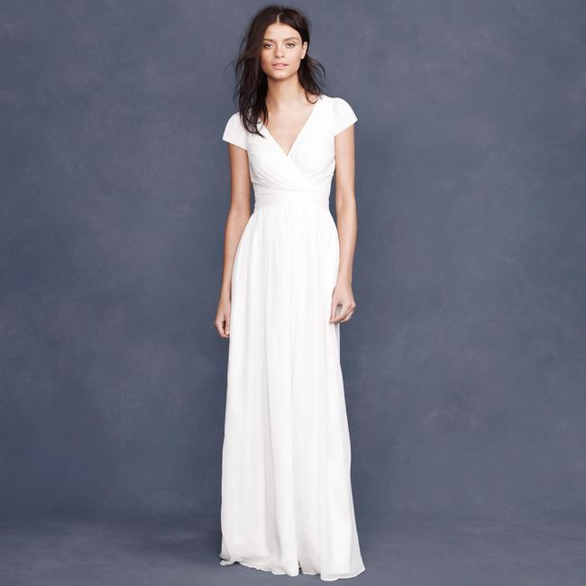 Item - Cream/Ivory Silk Chiffon Mirabelle Gown (Item 66754) Destination Wedding Dress Size 10 (M)