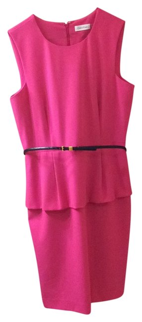 Item - Pink Mid-length Work/Office Dress Size 10 (M)