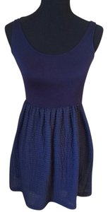 Urban Outfitters short dress Navy blue on Tradesy