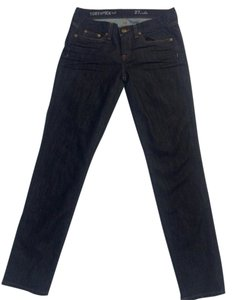 J.Crew Toothpick Ankle Wash Stretchy Nwot Capri/Cropped Denim-Dark Rinse