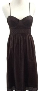Proenza Schouler for Target short dress Brown Spring Summer on Tradesy