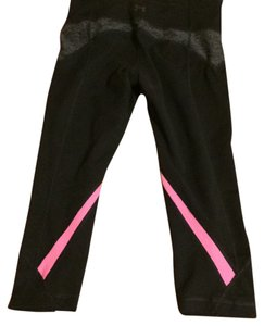 Under Armour Black and Pink Fitted Leggings
