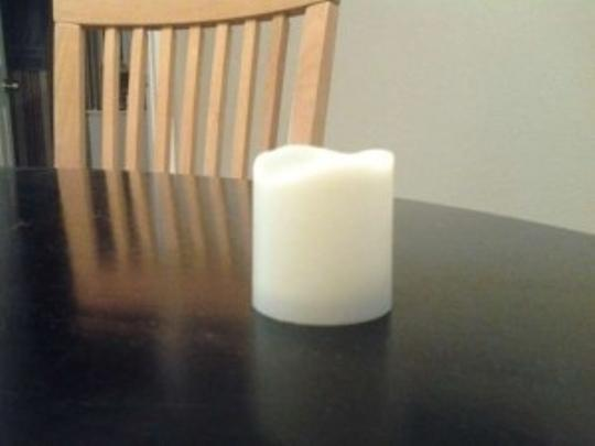 Michaels White Votive/Candle