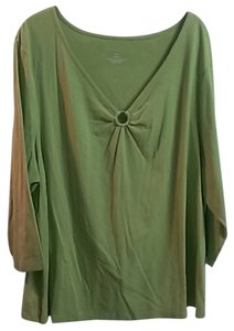 Venezia by Lane Bryant Bloue Top Green