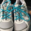 New Balance Gray, teal Athletic Image 3