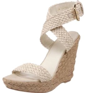 Stuart Weitzman Cream Wedges