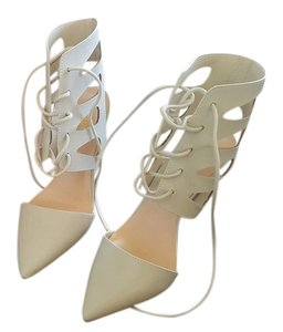 Wild Diva Light gray / off white Sandals