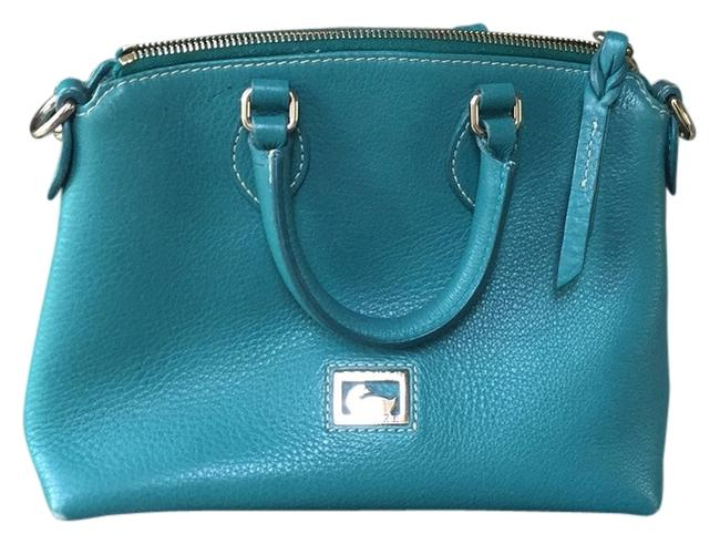 Item - Teal Green Leather Baguette