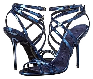 Burberry Alysa Carbon Blue Sandals