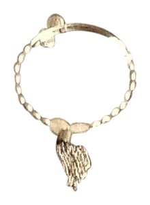 Alex and Ani Alex and Ani silver tassel bracelet