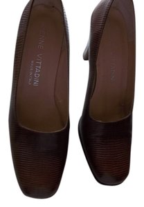 Adrienne Vittadini BROWN LIZARD Pumps
