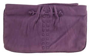 Linea Pelle Purple Clutch